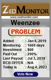 ссылка на мониторинг http://zedmonitor.com/?a=details&lid=20977