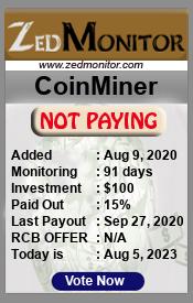 ссылка на мониторинг https://zedmonitor.com/?a=details&lid=21918